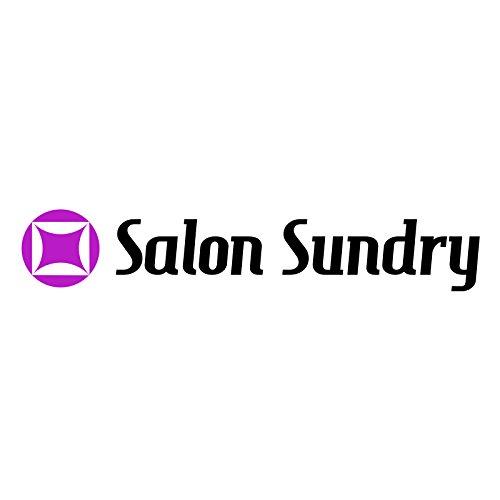 salon sundry professional hair salon nylon cape with snap closure - 50 u0026quot  x 60 u0026quot  black