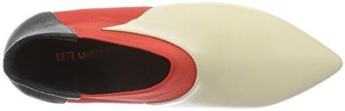 United Nude Zink Mid, Botines para Mujer Beige - Beige (Mist Hot Red)