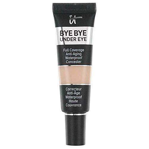 IT COSMETICS 0.4 oz Bye Bye Under Eye Full Coverage Anti-Aging Waterproof Concealer (12.0 Light Sand)