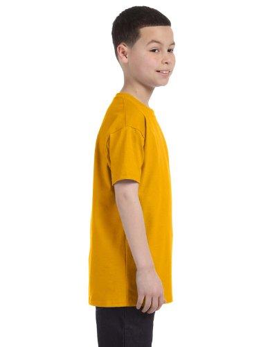 Homme Manches Gildan shirt Pour T Doré Courtes À nqpw8xv