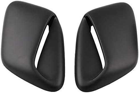 Semoic 2Pcs Car Modification Hood Vents W//Tape Fit for 99-01 Gc8 Sti WRX 2.5Rs
