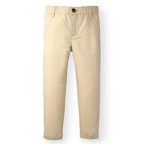 Hope & Henry Boys Kahki Linen Pant Made With Organic Cotton