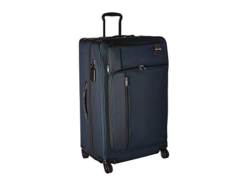 (TUMI - Merge Extended Trip Expandable Packing Case Large Suitcase - Rolling Luggage for Men and Women - Navy)