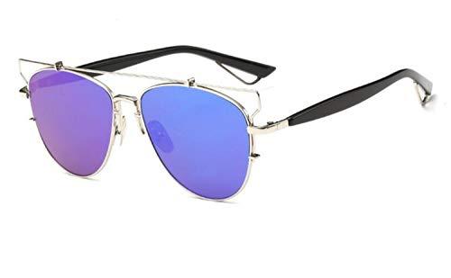 Unisexe UV400 Cool Protection plein Cadre voyager Huyizhi air Silver Lunettes en Lunettes soleil Métal de de Mode pêche fpqW5w4