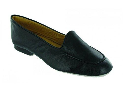 Sul Pantofole Nere Signore Fornells Nero Shuperb Pelle Slittamento 7znf4wqv