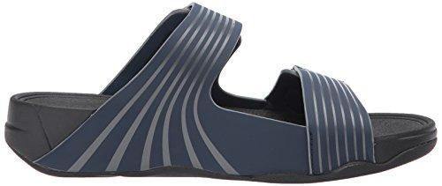 Punta Gogh Navy Sandali Aperta Blu Adjustable Sport Midnight Uomo Slide a Fitflop 76Swq
