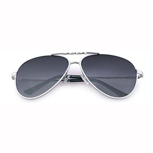 de Star soleil UV400 UV soleil nouveau de cadeaux lunettes Hiker de de protection lunettes de rétro soleil Sports ai conduite de plein pare soleil hommes soleil Frame; Gray B Progressive protection lunettes polarisées lunettes Silver RXYq6za