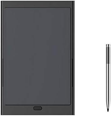 LKJASDHL 新しい多機能8.5インチLCDタブレット8000mAhlモバイル電源ワイヤレス充電トレジャーペインティングボード黒板ペン (色 : 黒)