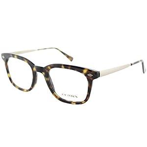 Zac Posen Rhys TO Tortoise Plastic Square Eyeglasses 50mm