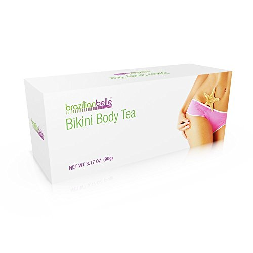 Bikini Body Detox Tea for Weight Loss - Best Slimming Tea on Amazon - Boosts Metabolism, Shrinks Love Handles and Improves Complexion by Brazilian Belle