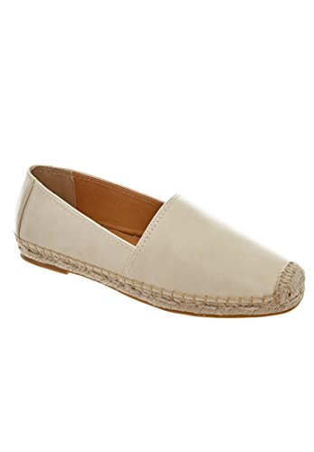 Comfortview Womens Wide Carlee Espadrilles Bone lDGeH3Mg2