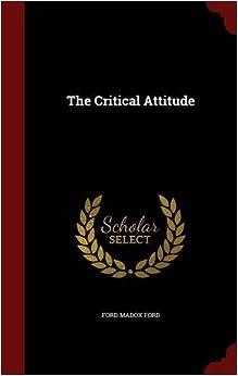 Book The Critical Attitude