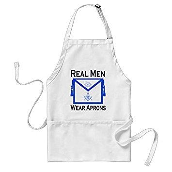 (Yilooom Real Men Wear Aprons - Masonic )