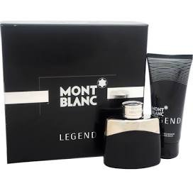 MŏntBlặnc Lėgėnd 2 Piece GIFT SET for Men 1.7 oz Eau de Toilette Cologne + 3.3 oz After Shave Balm