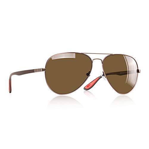 Classic Polarized Sunglasses Men Women Driving Pilot Frame Male Goggle UV400 ()