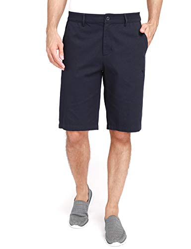 "CAMEL Mens Cargo Shorts Casual Classic Fit Hybrid Chino Shorts with 4 Pockets 12"" Inseam Flat Front Work Short (Sapphire 40)"
