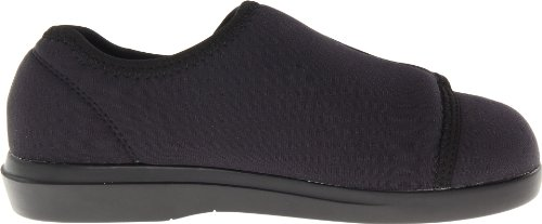 Propet Womens Black Cushn Foot 10 3e Noi