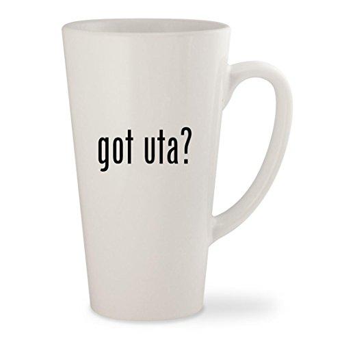 got uta? - White 17oz Ceramic Latte Mug Cup