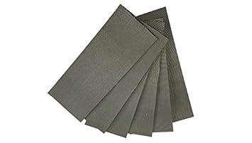 Sehr Anti-Rutsch-Pads aus Gummi selbstklebend (10 Stück) 25cm x 10cm ZA68