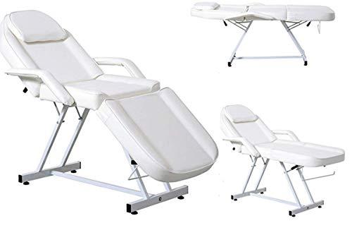 Massage Table Adjustable SPA Bed Beauty Salon Folding Chair Facial Tattoo