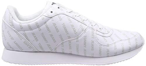 100 Para Hombre white Zapatillas Blanco Print Sneaker Tommy Jeans City wxY6XzqHq