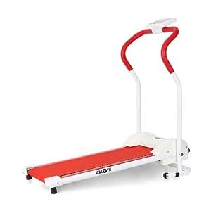 Klarfit Treado Basic Treadmill-Runner Laufband zusammenklappbar mit...