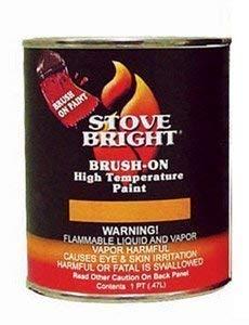Stove Bright Metallic Brown Brush - On 1200 Degree Paint - Pint