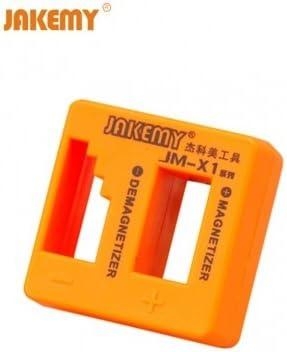 Jakemy jm - x1 desmagnetizador magnetizador para cuchillas de acero destornillador pinzas herramientas de mano herramientas de metal: Amazon.es: Electrónica