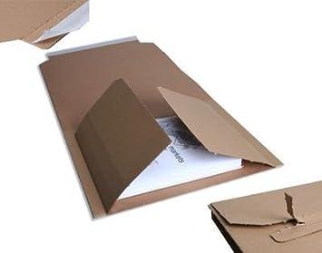 der-verpackungs-prof-de - Cajas para embalar libros (25 unidades, DIN A4): Amazon.es: Oficina y papelería