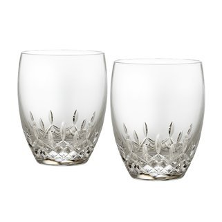 Waterford Drinkware, Set of 2 Lismore Essence Double Old Fashioned Glasses by Waterford