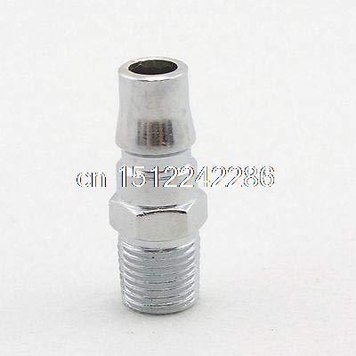 """2PCS 3//8/""""Male BSPT  Air Compressor Hose Quick Coupler Socket Connector"""
