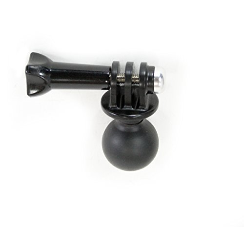 GoPro Adapter w/1'' Ball for RAM Mounts - Universal Conversion Adapter   This Vertical Adapter Allows You to Use GoPro or Action Mount with any RAM Style Mount. by Action Mount (Image #1)