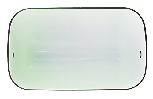 RUDY Replacement Green Glass Shade Cover for Banker Lamp - 8 2/3'' Width (22cm) SL100 by Rudy (Image #3)