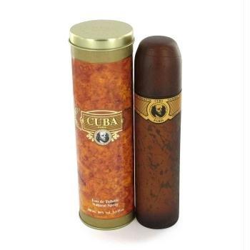 - Fragluxe - Cuba Gold Eau De Toilette Spray - 1.15 oz