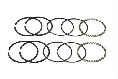 Motorcycle 3-1//2 Evolution Piston Ring Set .020 Oversize