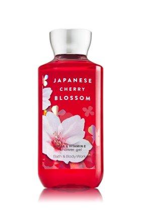 Bain et corps œuvres karité enrichi douche Gel formule améliorée nouveau 10 oz (fleurs de Cerisier japonais)