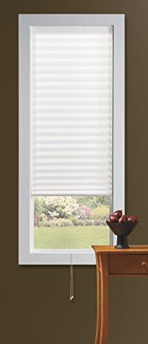 bali blinds room darkening temporary shade 36x72 white. Black Bedroom Furniture Sets. Home Design Ideas
