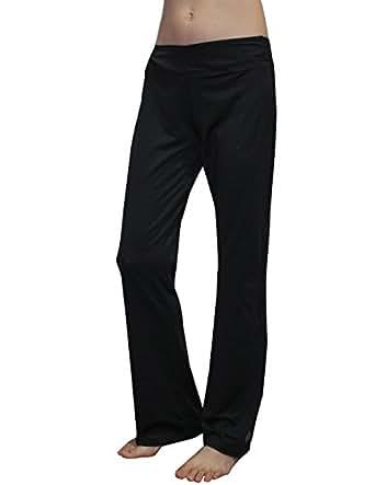 Womens Comfortable Casual-wear Lounge pants / Yoga Pants L Black
