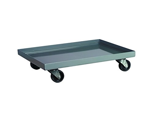 B000R8GSC4 Akro-Mils 1000 lb Bin Cabinet Dolly - 36 1/2 in Overall Length - 24 1/2 in Width - 6 1/2 in Height - 4 in Casters - AC803618M26 [PRICE is per EACH] 31B2BqRShfeL
