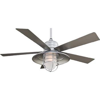 Minka Aire F582 Gl Rainman 54 Quot Ceiling Fan Galvanized