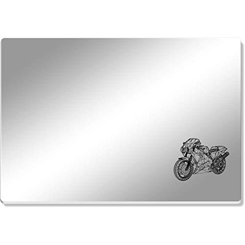 Azeeda 'Wireframe Superbike' Mirror Acrylic Table Placemat (CR00079485)