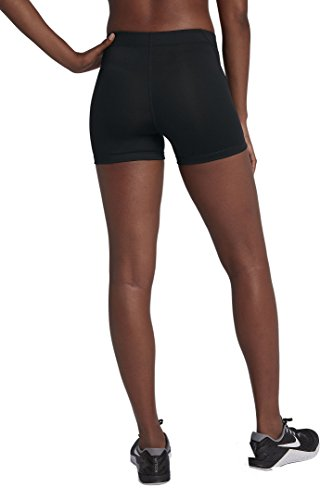 NIKE Womens Pro Compression 3'' Short Black/White S 589364-010-S by Nike (Image #2)