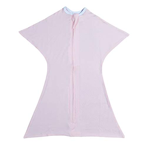 Classic Pink Swaddle Transition Zipadee-Zip Medium 6-12 Months (18-26 lbs, 29-33 inches) ()