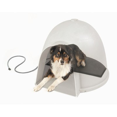 K&H Manufacturing 1050/40/30 Igloo Style Heated Dog Bed Size/Watt: 14.5 x 24/ 60 W by K&H Manufacturing
