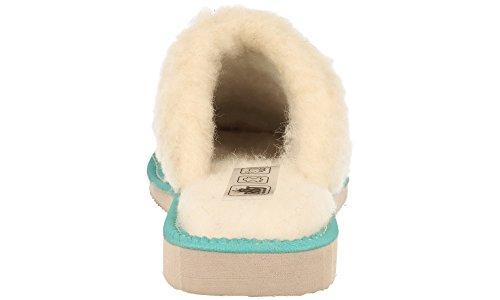 Modello da Imbottito in Scamosciate Morbida Scatola Donna Pantofole Regalo in Lana RBJ Blue di da leather Pecora shoes Opzionale 0fwq0xYZ
