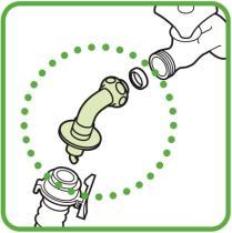 三栄水栓 【洗濯機用水栓取り付け金具】 洗濯機用L型ニップル PY121-4TVX-16