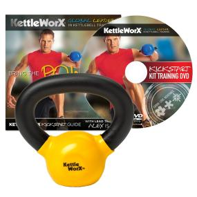 KettleWorX Kick Start Kit With 5 lb. Kettlebell