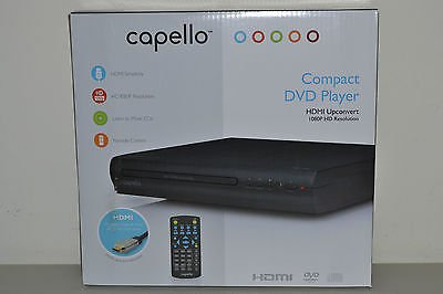Capello 2 Channel DVD Player, Front Loading, Progressive Sca