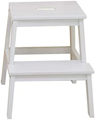 ACZZ Taburetes con escalones Escalera con peldaños 2 Pasos Taburete de madera ligero Pasos con escaleras Escalera portátil Taburete multifunción Escalera/Escalera Silla para niños adultos para baño: Amazon.es: Bricolaje y herramientas