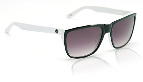 Hoven Katz 48-9207 Square Sunglasses,Black & Clear,56 - Polarized Hoven Sunglasses